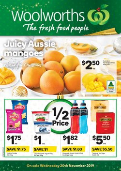 Supermarkets offers in the Woolworths catalogue in Sydney NSW