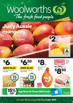 Supermarkets offers in the Woolworths catalogue in Yass NSW
