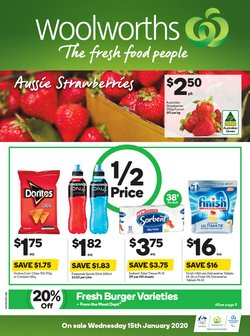 Supermarkets offers in the Woolworths catalogue in Adelaide SA