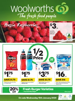 Offers from Woolworths in the Greater Dandenong VIC catalogue