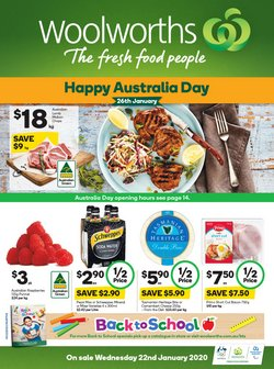 Offers from Woolworths in the Ballina NSW catalogue