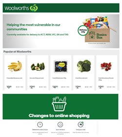 Woolworths catalogue ( 21 days left )