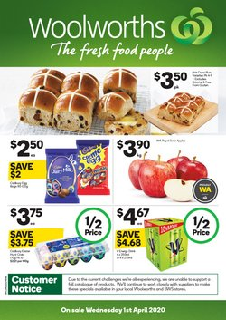 Woolworths catalogue in Perth WA ( Expires today )
