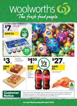 Woolworths catalogue in Perth WA ( Published today )