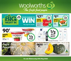 Supermarkets offers in the Woolworths catalogue in Burnie TAS ( Expires tomorrow )