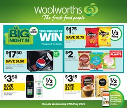 Woolworths catalogue ( Expires tomorrow )