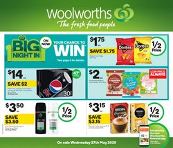 Supermarkets offers in the Woolworths catalogue in Joondalup WA ( 3 days left )