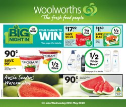 Supermarkets offers in the Woolworths catalogue in Melbourne VIC ( Expires today )