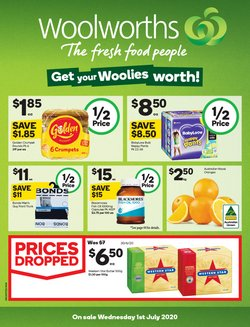 Supermarkets offers in the Woolworths catalogue in Bunbury WA ( 3 days left )