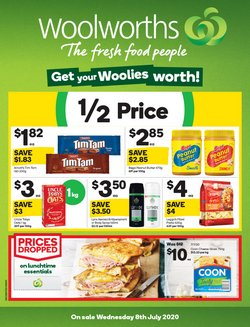Supermarkets offers in the Woolworths catalogue ( 1 day ago )