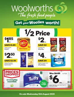 Supermarkets offers in the Woolworths catalogue in Melbourne VIC ( 2 days ago )