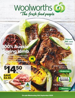 Woolworths catalogue ( 2 days left )