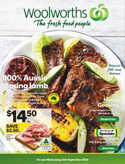 Woolworths catalogue ( 3 days left )