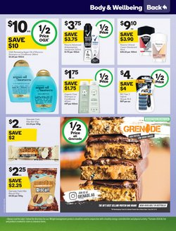 Offers of Sales in Woolworths