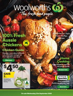 Supermarkets offers in the Woolworths catalogue in Wallan VIC ( 2 days left )