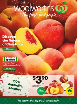 Woolworths catalogue ( Published today )