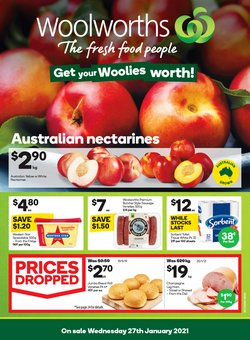 Valentine's Day specials in the Woolworths catalogue ( Published today)