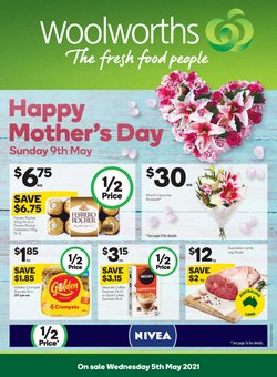 Woolworths catalogue ( 4 days left)