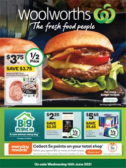 Woolworths catalogue ( Expires tomorrow)