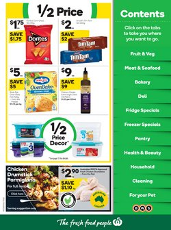 Supermarkets specials in the Woolworths catalogue ( 30 days left)