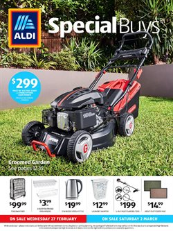 Offers from Aldi in the Dubbo NSW catalogue