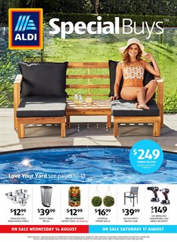 ALDI | Catalogues & Special Buys August 2019