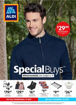 Supermarkets offers in the ALDI catalogue in Joondalup WA ( 3 days left )