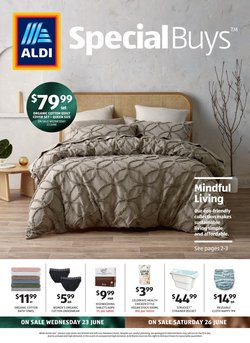 ALDI catalogue ( Published today)