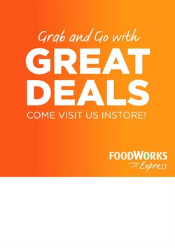 Offers from Foodworks in the Sydney NSW catalogue