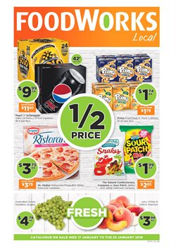 Offers from Foodworks in the Melbourne VIC catalogue