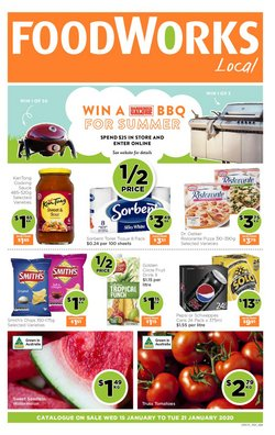 Offers from Foodworks in the Brisbane QLD catalogue