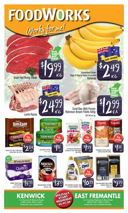 Foodworks catalogue in Perth WA ( 3 days left )