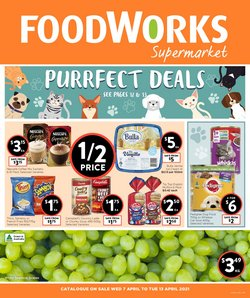 Foodworks catalogue ( Expired )