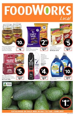 Foodworks specials in the Foodworks catalogue ( Expired)