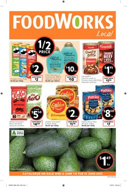 Foodworks specials in the Foodworks catalogue ( Expires today)