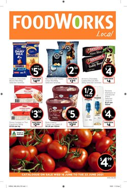 Foodworks specials in the Foodworks catalogue ( Published today)