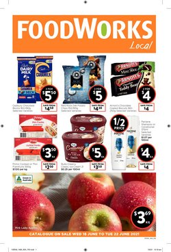 Foodworks catalogue ( Published today)