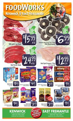 Foodworks specials in the Foodworks catalogue ( 4 days left)