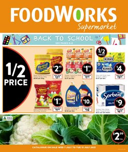 Foodworks catalogue ( Expired)