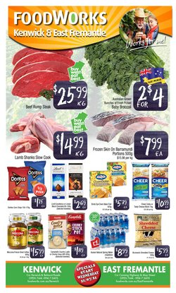 Supermarkets specials in the Foodworks catalogue ( Expires tomorrow)