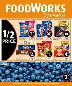Foodworks specials in the Foodworks catalogue ( 2 days left)