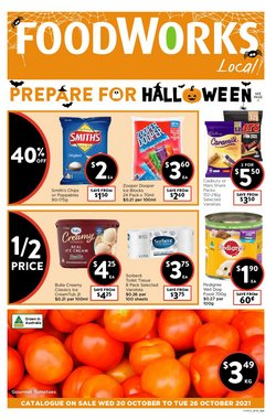 Supermarkets specials in the Foodworks catalogue ( 1 day ago)