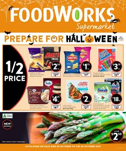 Supermarkets specials in the Foodworks catalogue ( Published today)