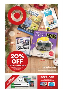 Offers from Target in the Canberra ACT catalogue