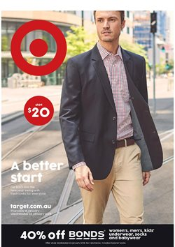 Department Stores offers in the Target catalogue in Brisbane QLD