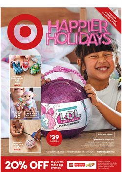 Department Stores offers in the Target catalogue in Sandstone Point QLD