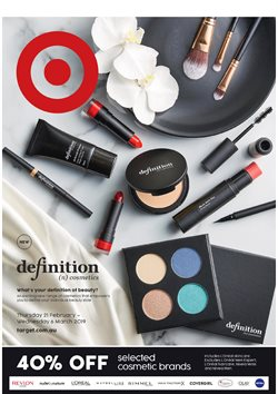Department Stores offers in the Target catalogue in Sydney NSW