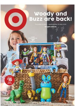Department Stores offers in the Target catalogue in Bairnsdale VIC