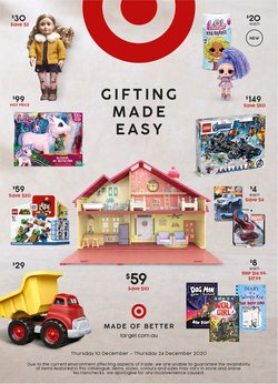 Target catalogue ( Expired )
