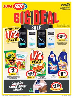 Grocery offers in the IGA catalogue in Melbourne VIC